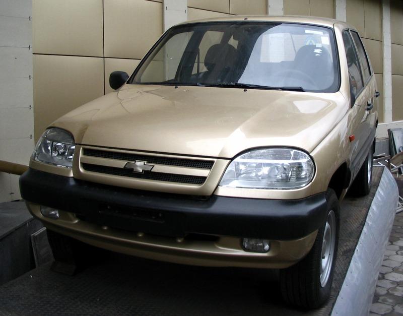 Цены на внедорожник Chevrolet Niva с…