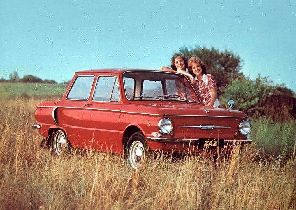 Реклама автомобилей в СССР.