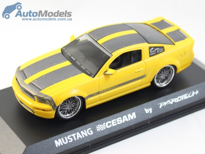 ford-mustang-cesam-2007-yellow-parotech-norev