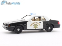 Ford Mustang 5.0 1985 California Highway Patrol