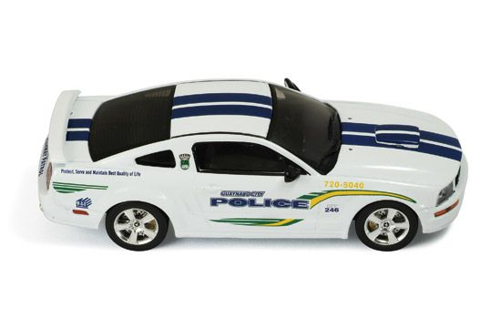 Ford Mustang GT 2006 Guaynabo City police