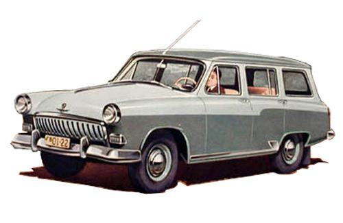 Gaz Volga M22G (export version)